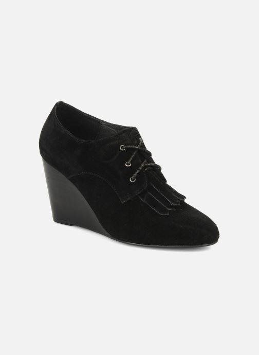 Zapatos con cordones Georgia Rose Azalea Negro vista de detalle / par