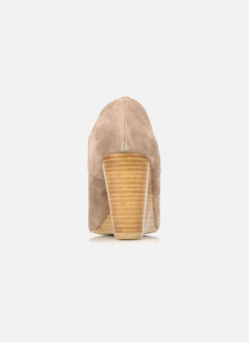Chaussures à lacets Georgia Rose Azalea Beige vue droite