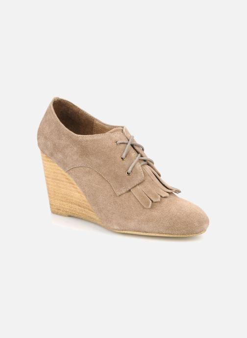 Chaussures à lacets Georgia Rose Azalea Beige vue détail/paire