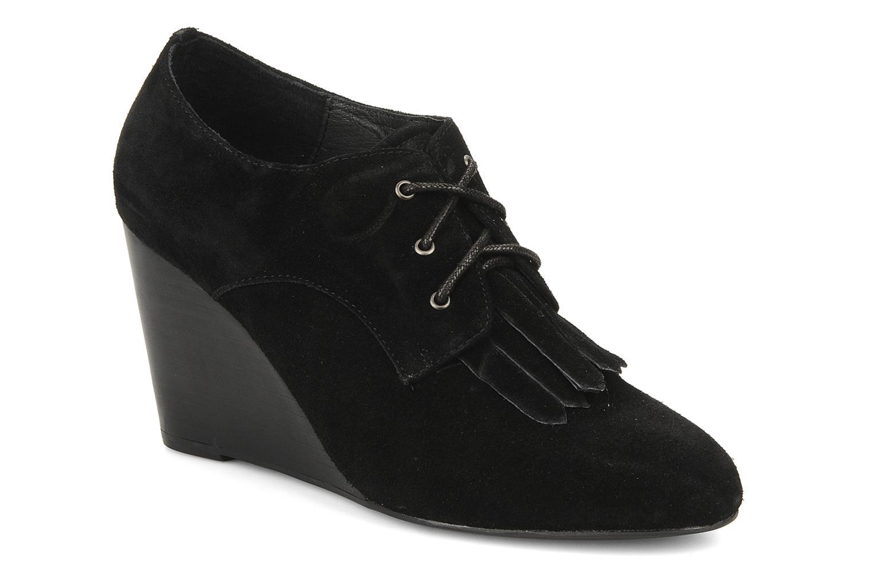 Chaussures à lacets Georgia Rose Azalea Noir vue détail/paire