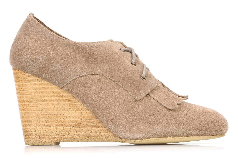 Chaussures à lacets Georgia Rose Azalea Beige vue derrière