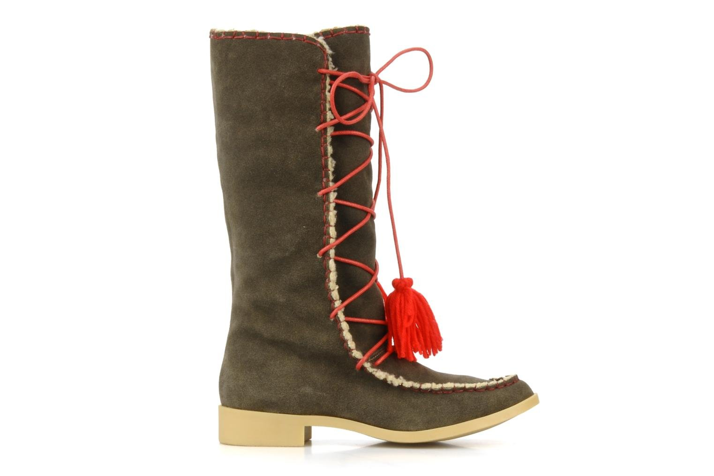 Boots & wellies Mellow Yellow Kenou Brown back view