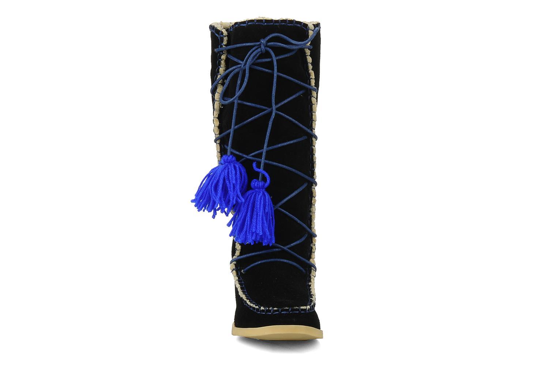 Boots & wellies Mellow Yellow Kenou Black model view