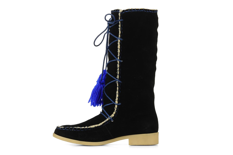 Boots & wellies Mellow Yellow Kenou Black front view