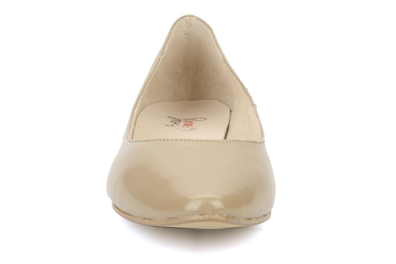 Ballet pumps I Love Shoes Mizaella Beige model view