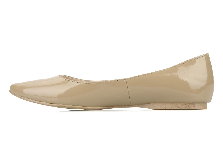 Ballet pumps I Love Shoes Mizaella Beige front view