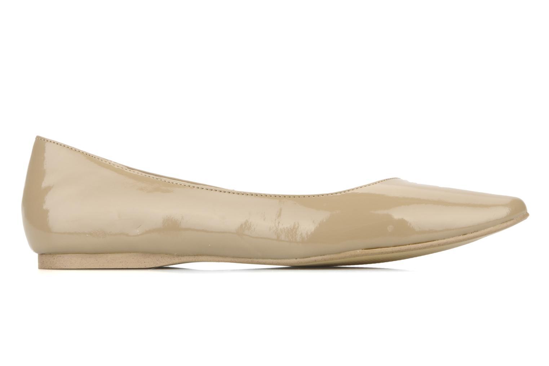 Ballet pumps I Love Shoes Mizaella Beige back view