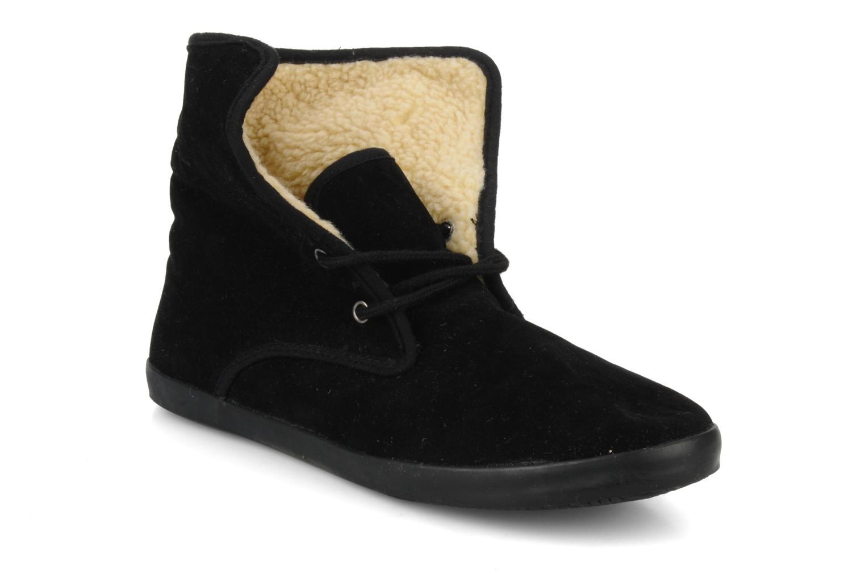 Chaussures à lacets I Love Shoes Ronnie Noir vue 3/4