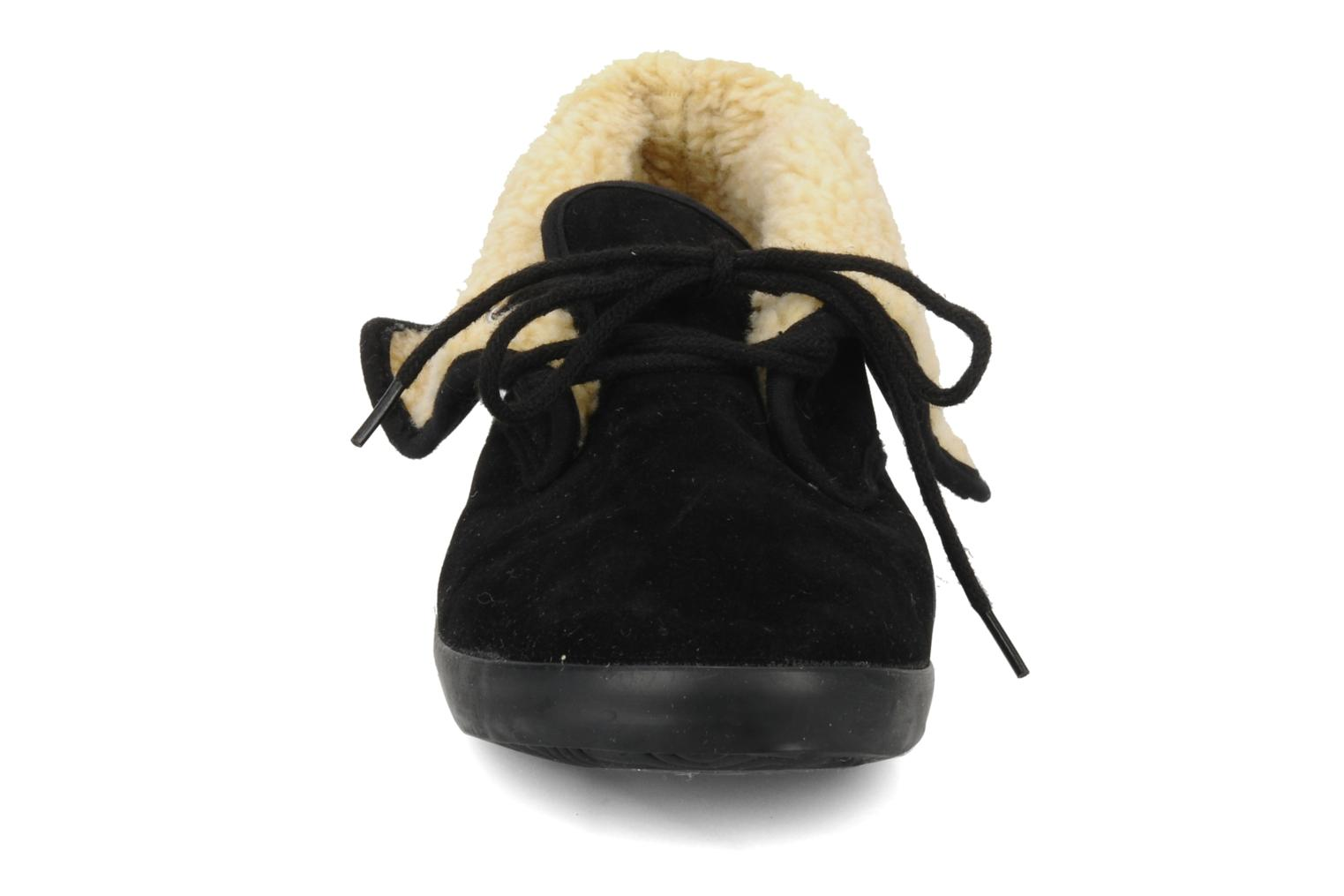 Lace-up shoes I Love Shoes Ronnie Black model view