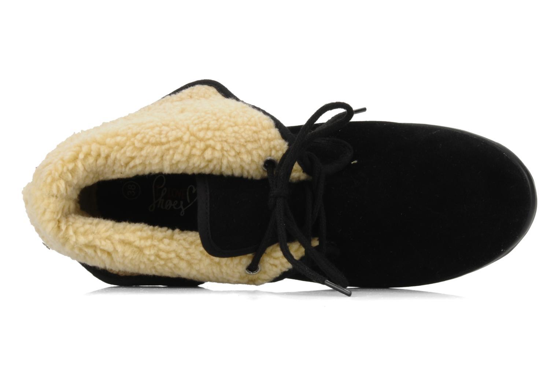 Chaussures à lacets I Love Shoes Ronnie Noir vue gauche