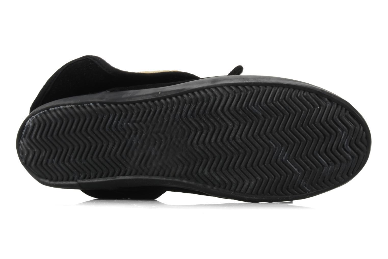 Chaussures à lacets I Love Shoes Ronnie Noir vue haut