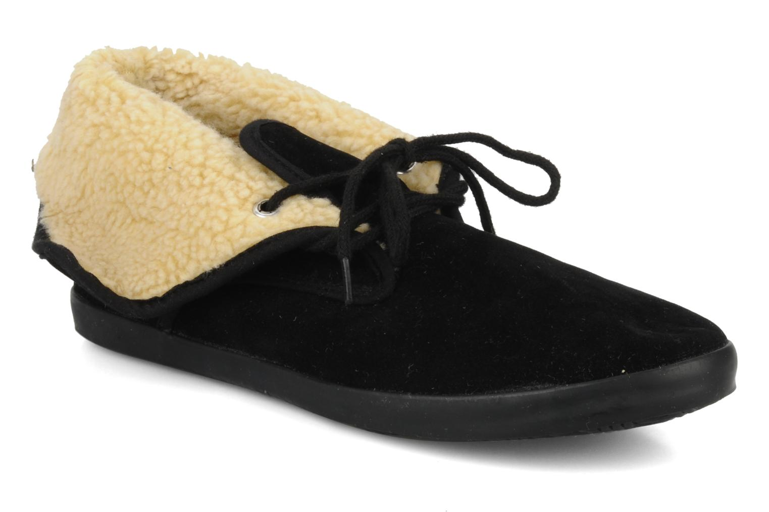 Lace-up shoes I Love Shoes Ronnie Black detailed view/ Pair view