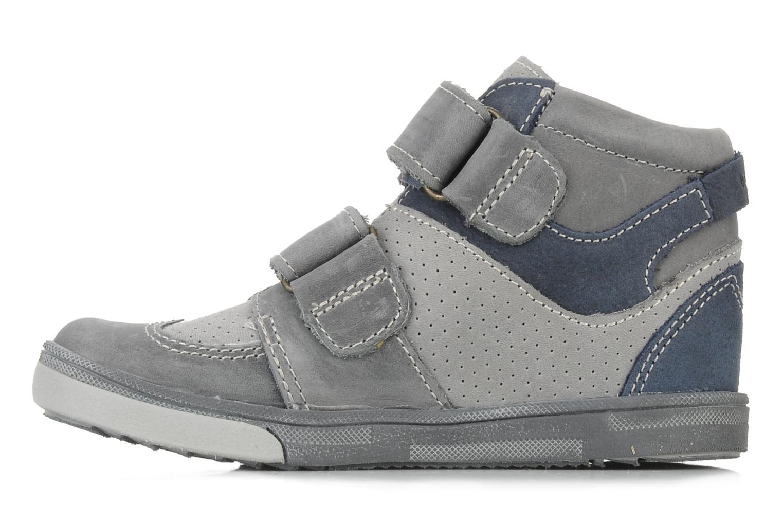 Schoenen met klitteband Babybotte Ari Grijs voorkant
