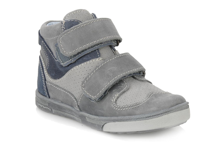 Schoenen met klitteband Babybotte Ari Grijs detail
