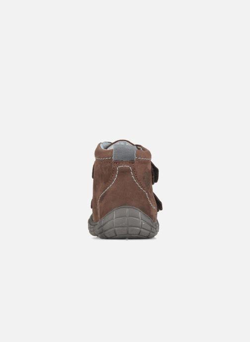 Chaussures à scratch Babybotte Axyon Marron vue droite