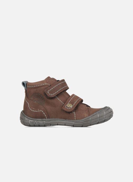 Schoenen met klitteband Babybotte Axyon Bruin achterkant