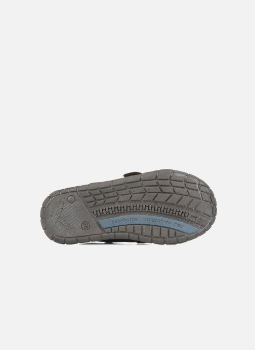 Chaussures à scratch Babybotte Axyon Marron vue haut