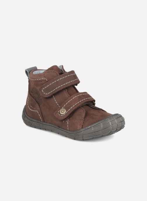 Schoenen met klitteband Babybotte Axyon Bruin detail
