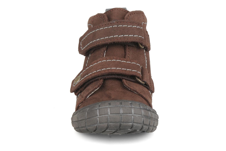 Velcro shoes Babybotte Axyon Brown model view