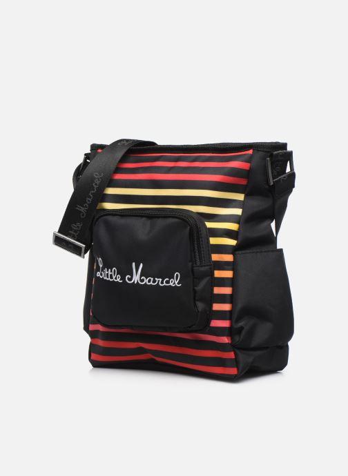 Sacs à main Little Marcel Paolo Multicolore vue portées chaussures