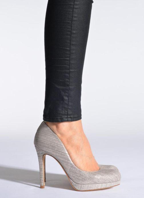 High heels L.K. Bennett Sledge Beige view from underneath / model view