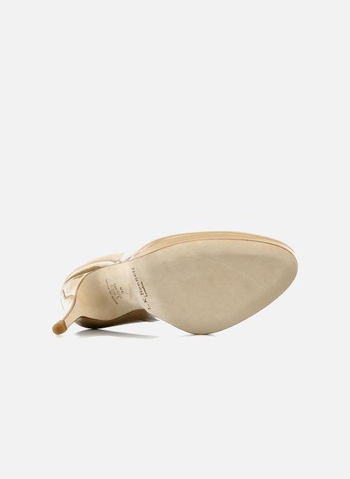Zapatos de tacón L.K. Bennett Sledge Beige vista de arriba