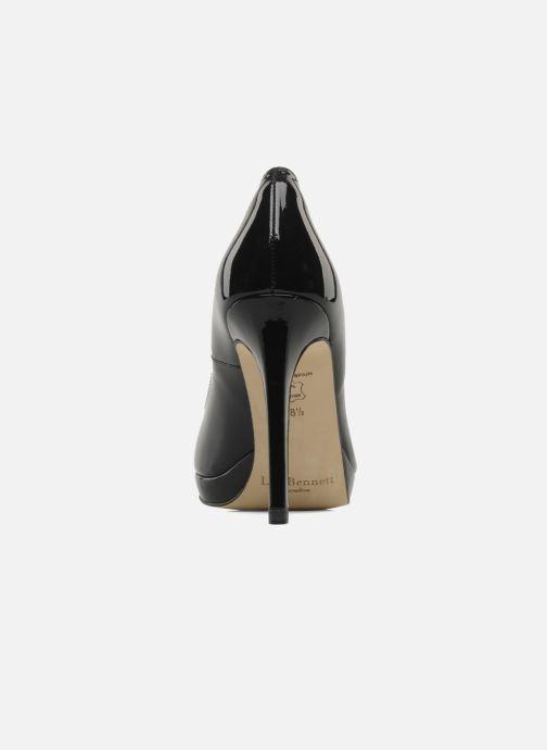 Zapatos de tacón L.K. Bennett Sledge Negro vista lateral derecha
