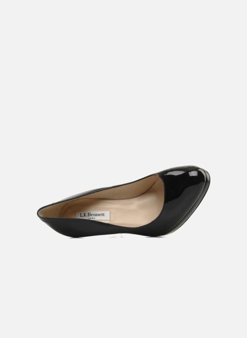 Zapatos de tacón L.K. Bennett Sledge Negro vista lateral izquierda