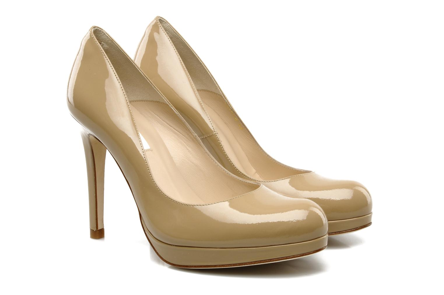 High heels L.K. Bennett Sledge Beige 3/4 view