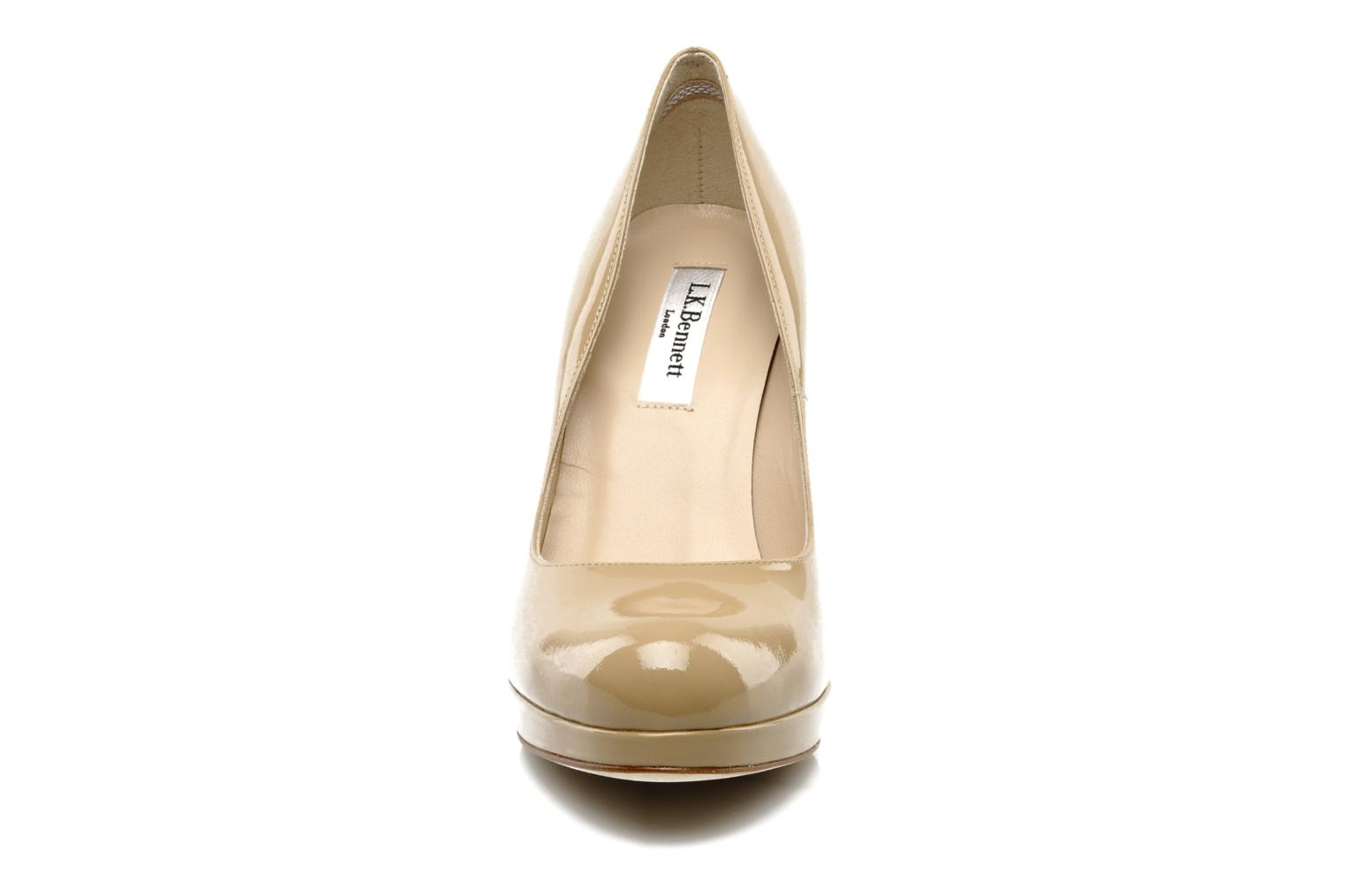 High heels L.K. Bennett Sledge Beige model view