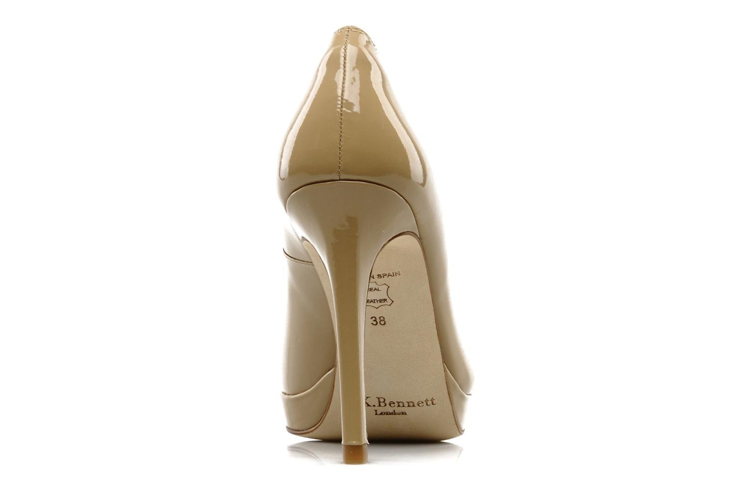 High heels L.K. Bennett Sledge Beige view from the right