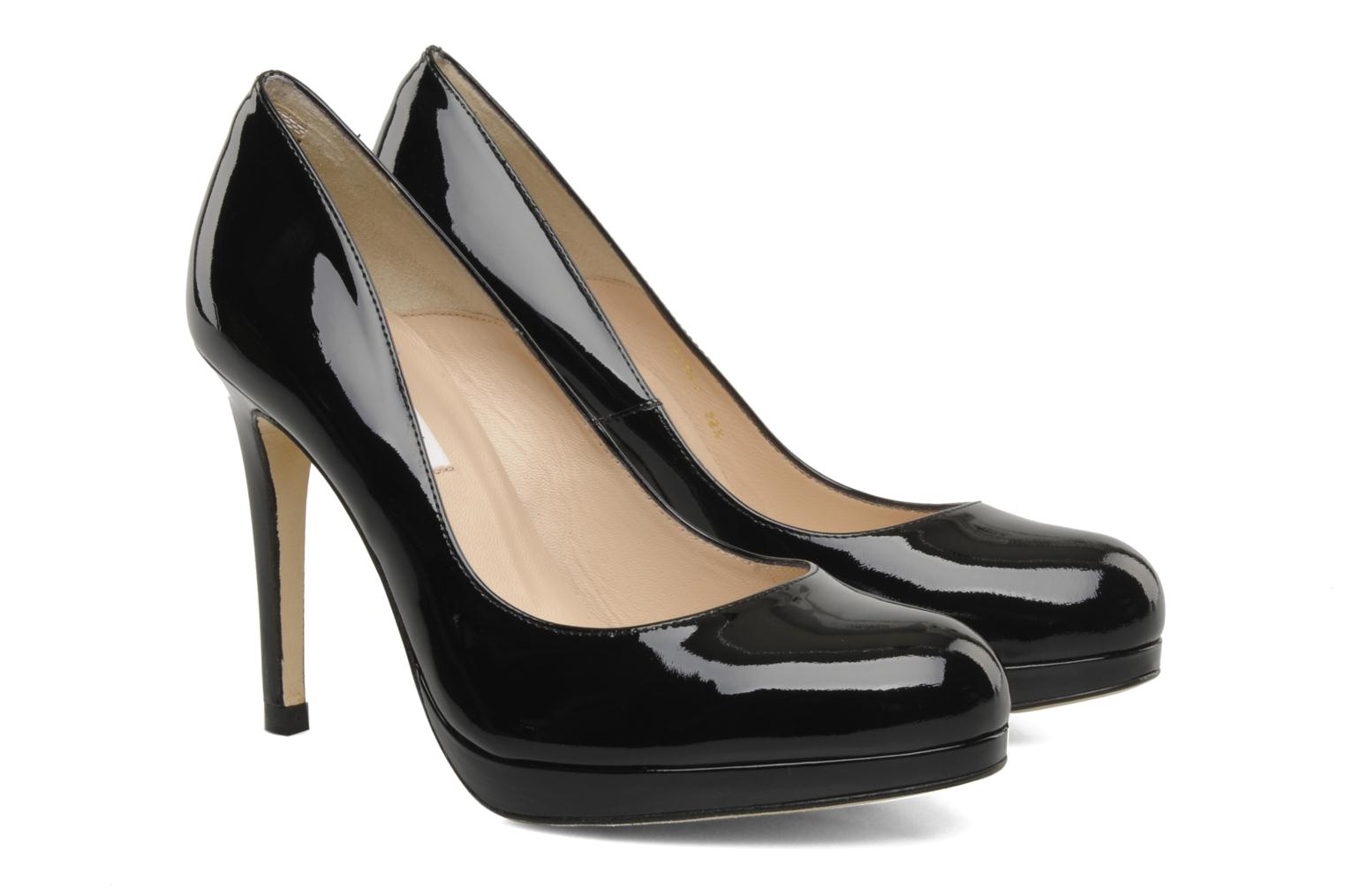 High heels L.K. Bennett Sledge Black 3/4 view