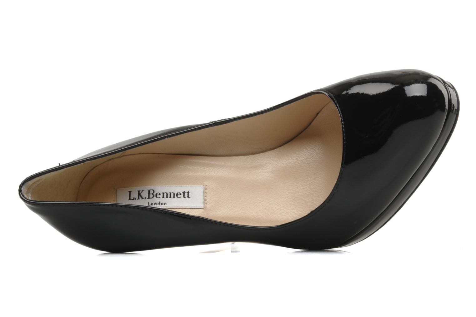High heels L.K. Bennett Sledge Black view from the left
