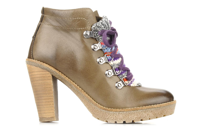 Bottines et boots Mikaela Elfort Marron vue derrière