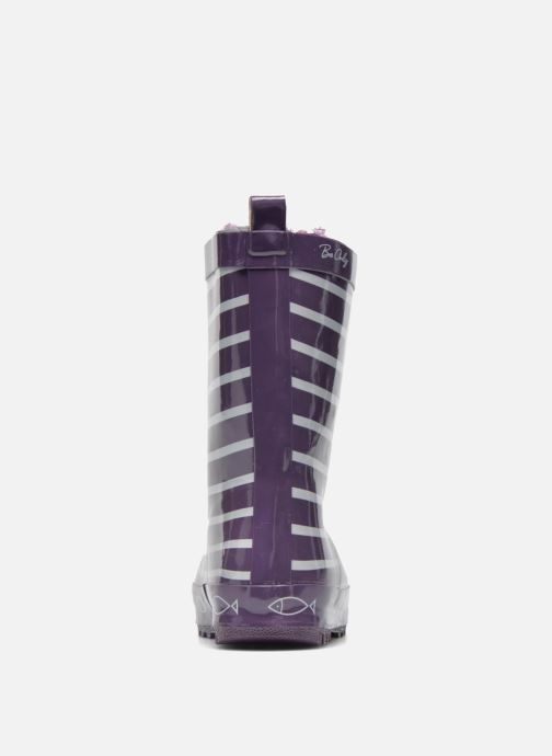 Bottes Be Only Timouss Violet vue droite