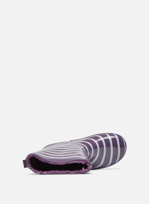 Bottes Be Only Timouss Violet vue gauche