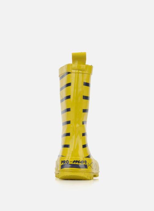 Stiefel Be Only Timouss gelb ansicht von rechts