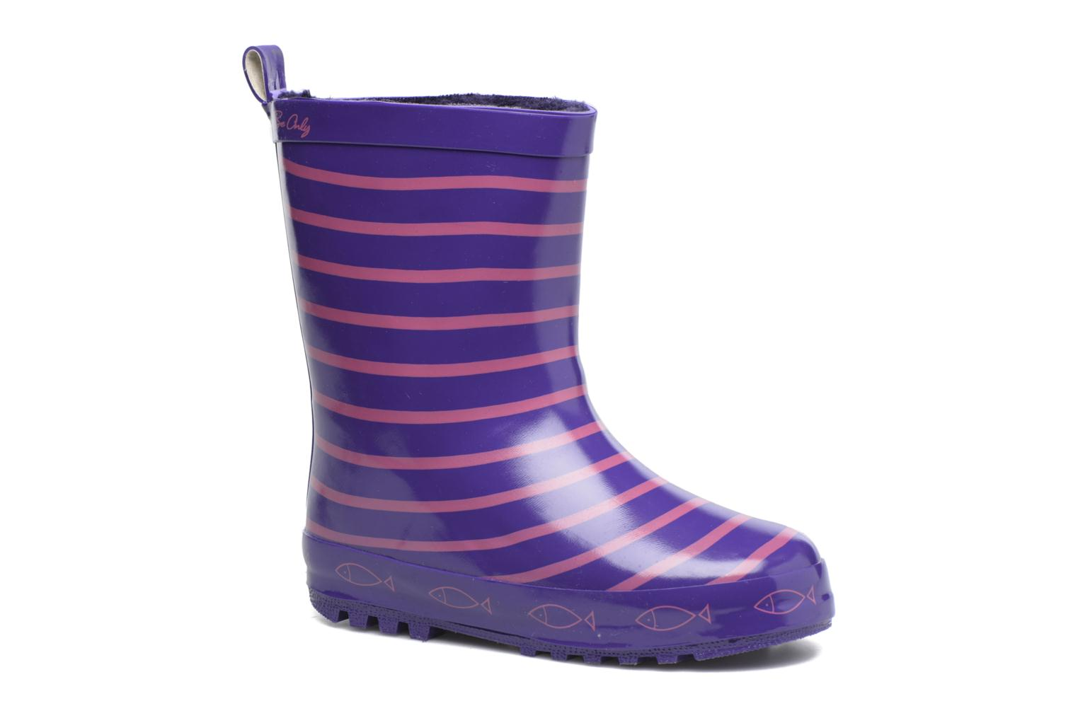 3ccc9ca09aa3d Be Only Timouss (Purple) - Boots   wellies chez Sarenza (299618)