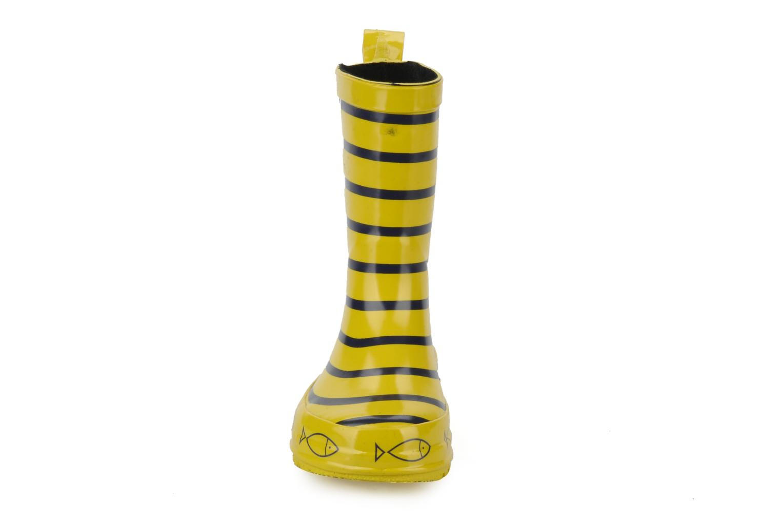 Bottes Be Only Timouss Jaune vue portées chaussures