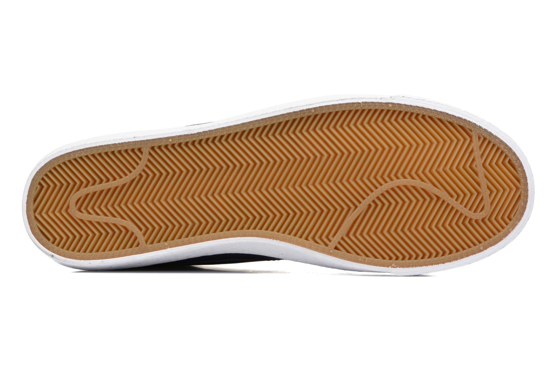 Baskets Nike Blazer mid prm Bleu vue haut