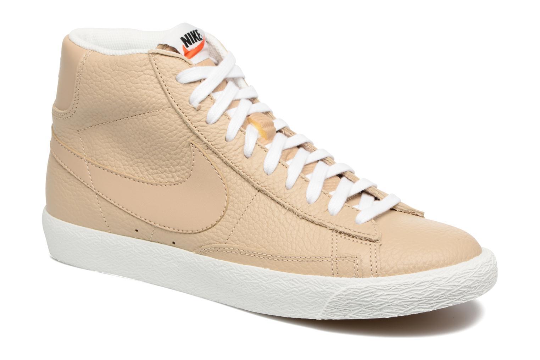 Nike Blazer mid prm (Beige) - Baskets en Más cómodo Réduction de prix saisonnier, remise
