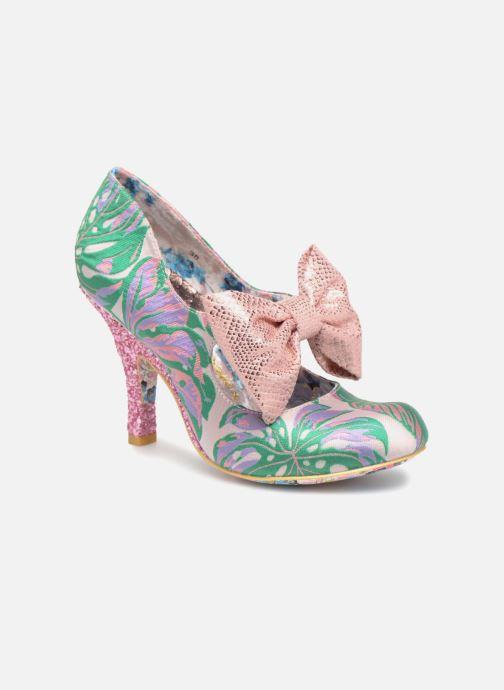 High heels Irregular choice Windsor Green detailed view/ Pair view