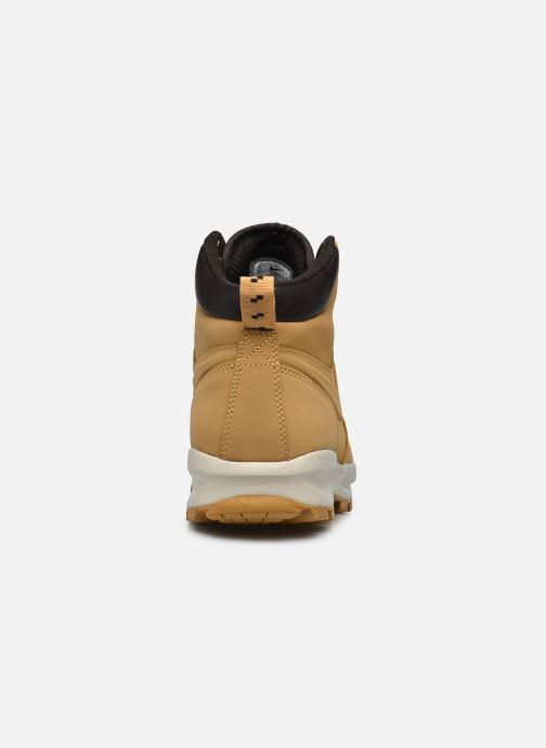 Bottines et boots Nike Manoa leather Jaune vue droite
