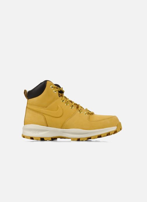 Ankle boots Nike Manoa leather Yellow back view