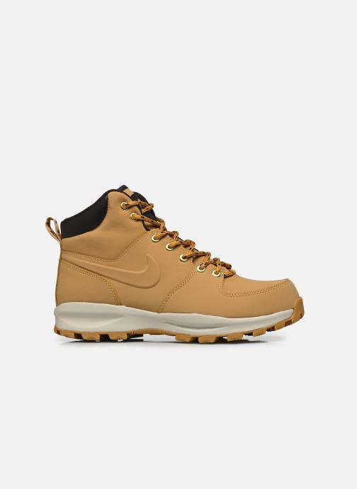 Stiefeletten & Boots Nike Manoa leather gelb ansicht von hinten
