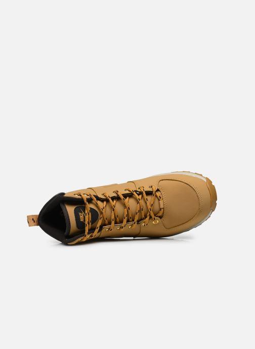 Bottines et boots Nike Manoa leather Jaune vue gauche