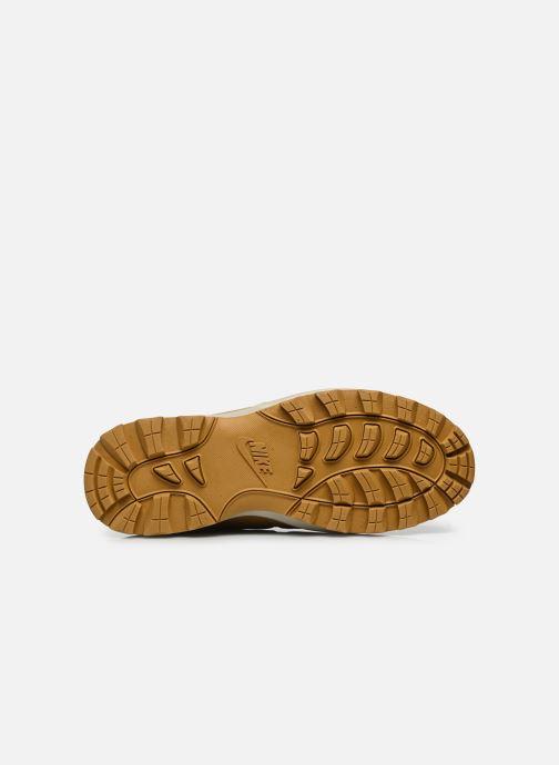 Stiefeletten & Boots Nike Manoa leather gelb ansicht von oben