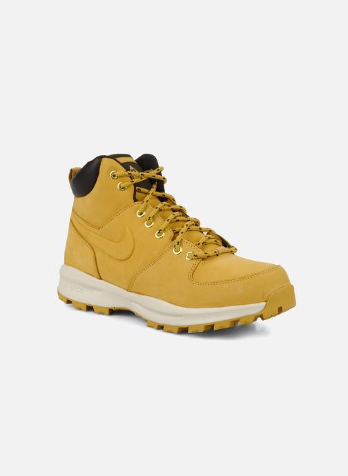 Ankle boots Nike Manoa leather Yellow detailed view/ Pair view