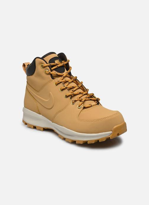 Bottines et boots Nike Manoa leather Jaune vue détail/paire