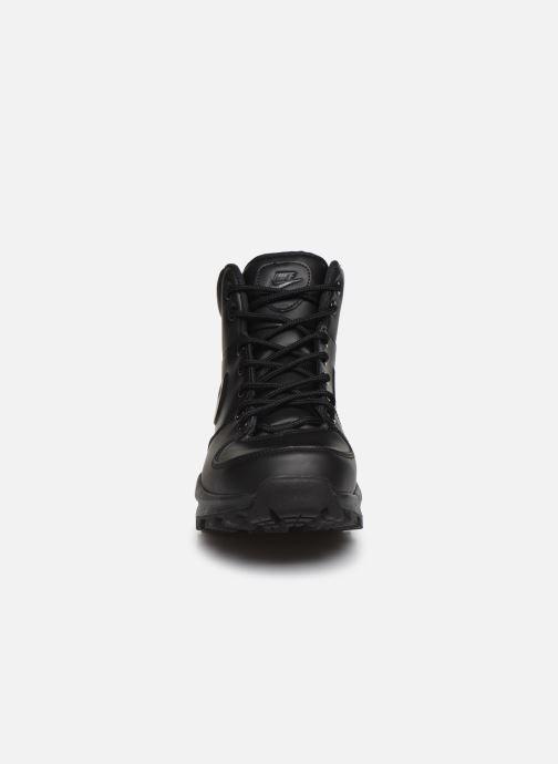 Stivaletti e tronchetti Nike Manoa leather Nero modello indossato